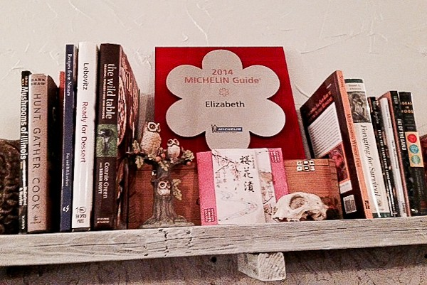 Elizabeth cookbooks with Michelin star