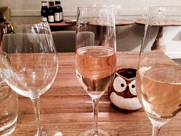 Elizabeth wine with owl