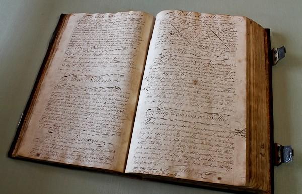 Ben large cookbook caligraphy