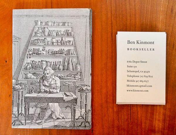 Ben postcard and business card