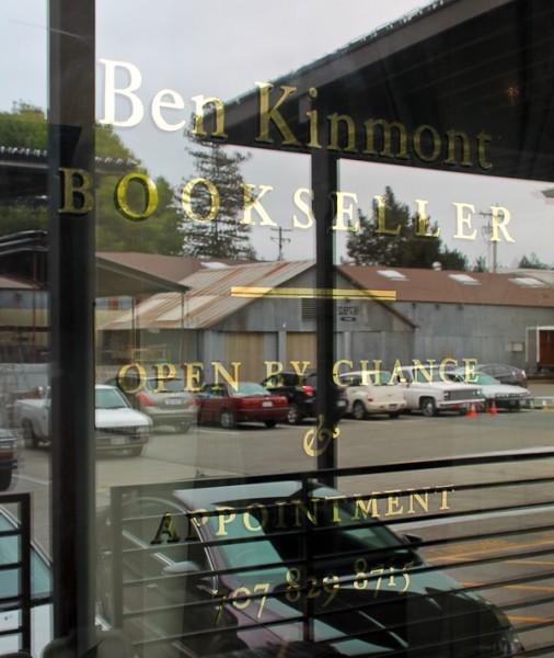 Ben store window