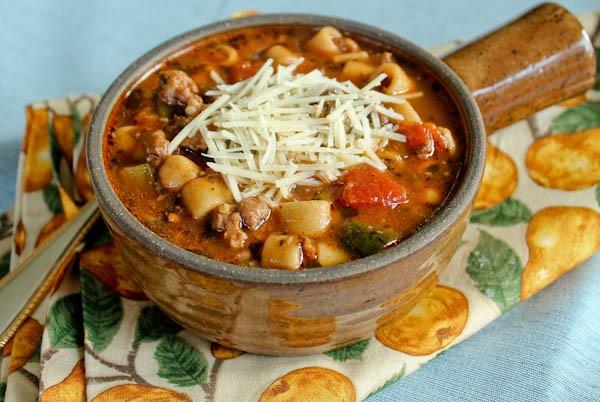 Point Reyes Italian soup