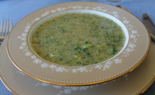 Point Reyes broccoli soup 1