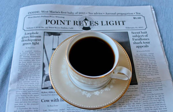 Point Reyes coffee