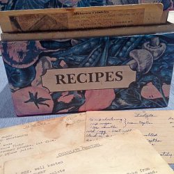 Point Reyes recipe box