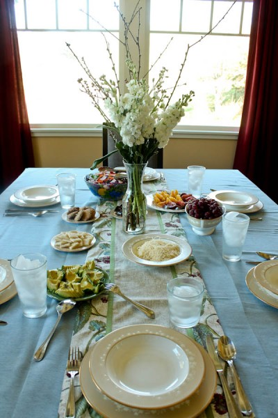 Point Reyes table setting