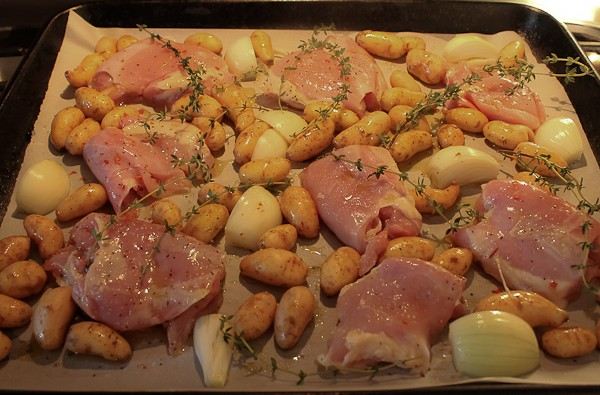 Sheet pan chicken 3