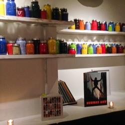 Fulton paint jar wall