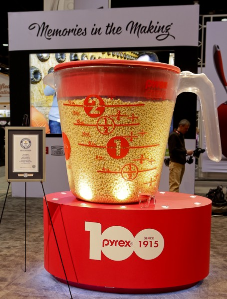 Giant Pyrex cup