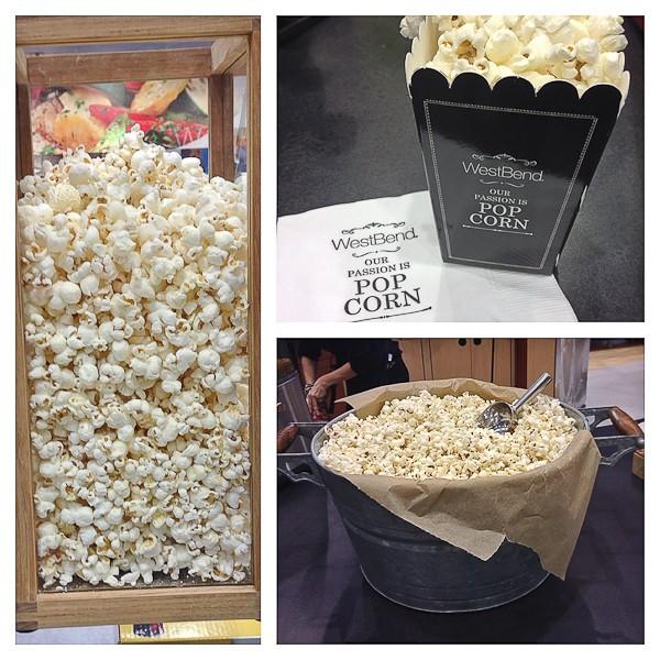 Popcorn trio photo