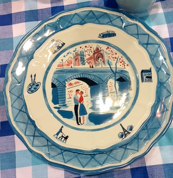 TCM blue plate