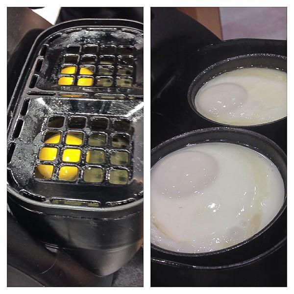 Toaster eggs