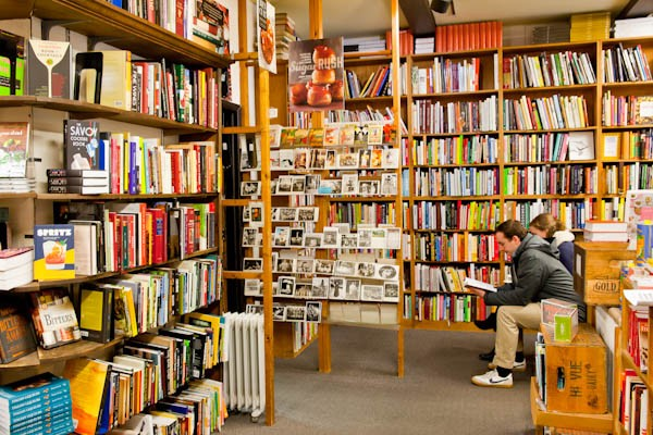 The store is filled with thousands of volumes: out-of-print books ...