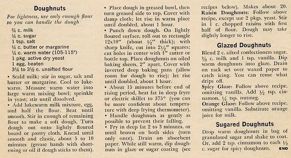 Square Donut recipe