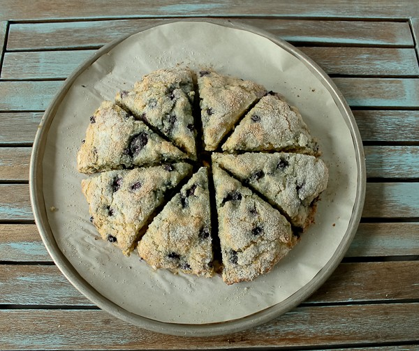 Blueberry Scones from above