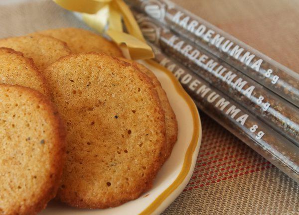 Cardamom Cookies 1