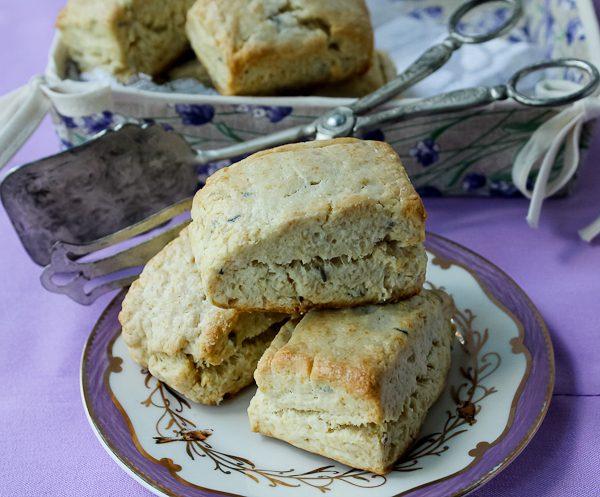 Lavender scones 6