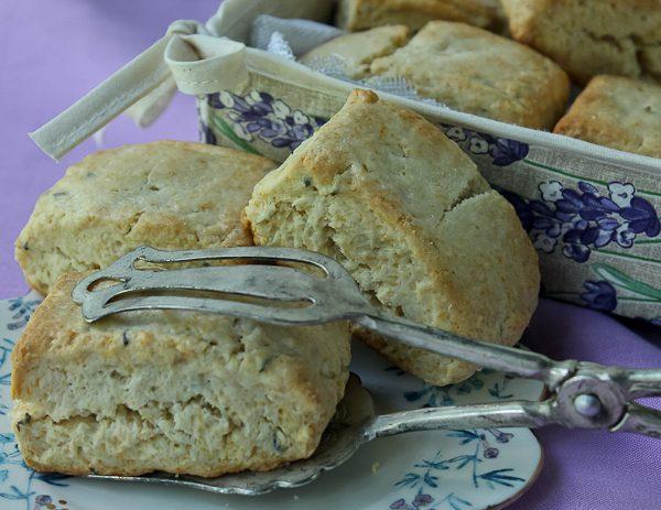 Lavender scones 8