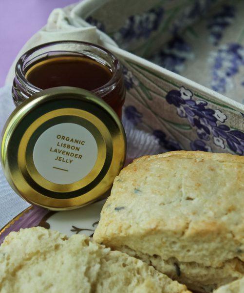Lavender scones 9