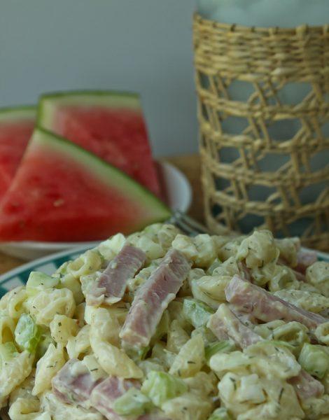 Sphere Ham Macaroni Salad 3