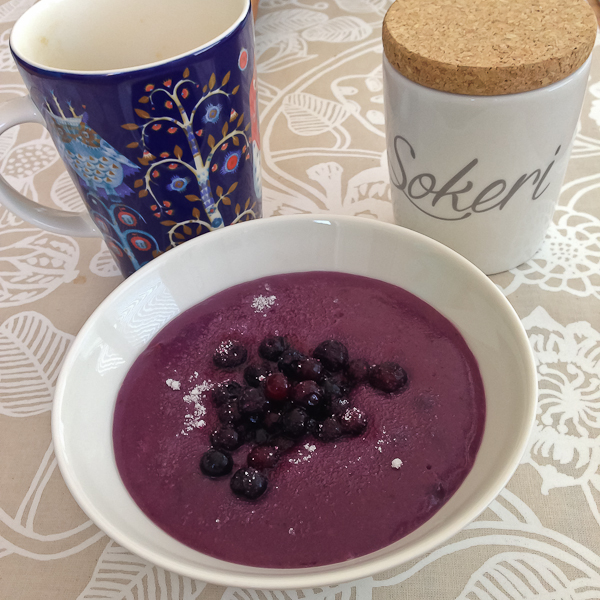 Finn Blueberry Porridge