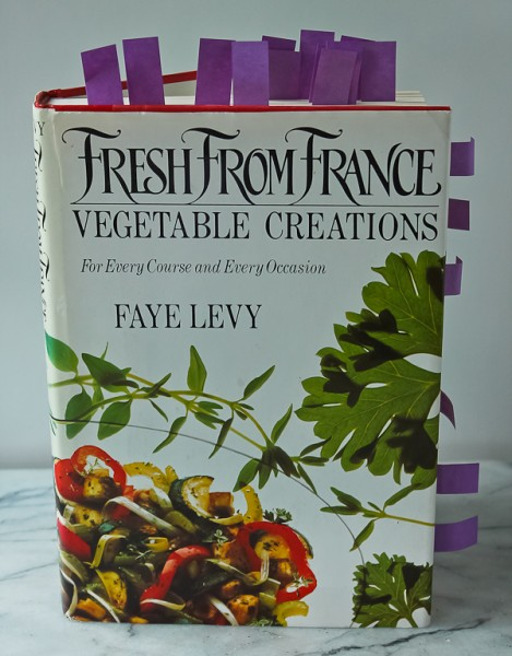 French vegetable cookbook