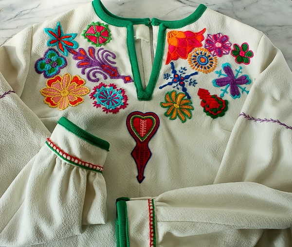 Embroidered shirt_