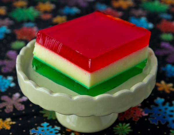 Christmas Ribbon Salad - The Culinary Cellar