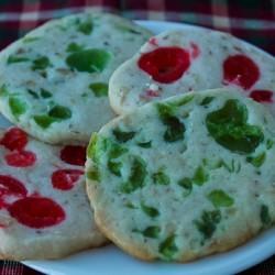 Sphere cherry cookies image