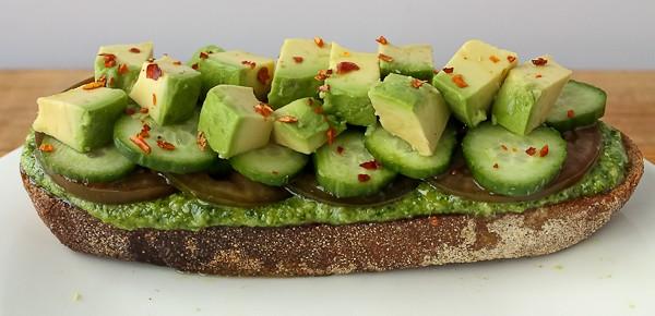 Avocado sandwich 1