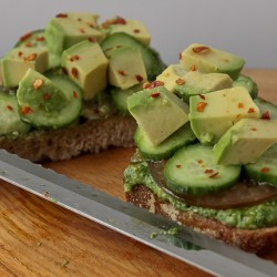 Avocado sandwich 5