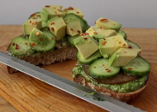 Avocado sandwich 5