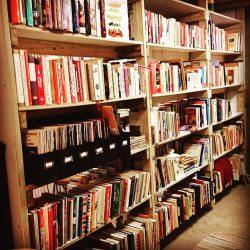 Bookshelves for blog