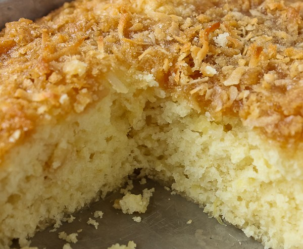 pineapple coconut cake recipe pineapple coconut coffee cake the culinary cellar 6538