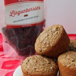 Lingonberry Bran Muffins 4