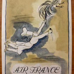 Air France Menu Clem 2