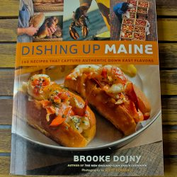 Dishing up Maine cookbook