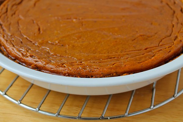 There will not be a traditional pie crust as you are used to but who needs the pie crust calories and fat with all the Halloween candy coming up? & National Pumpkin Day - The Culinary Cellar