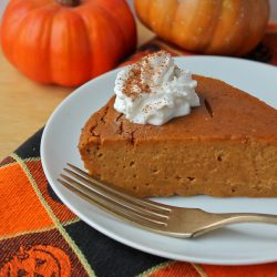 Impossible Pumpkin Pie 4