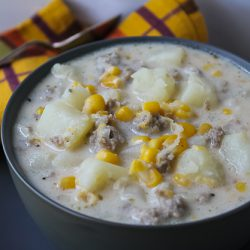 Corn and Sausage Chowder 1