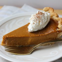 Mom's Pumpkin Pie 1