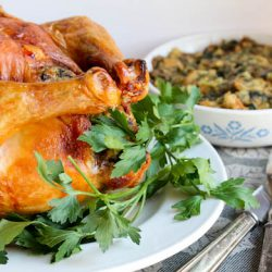 Roast Chicken & Stuffing 4
