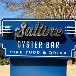 Saltine sign