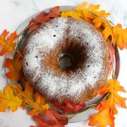Pumpkin Pound Cake 2