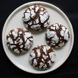 Chocolate Crinkle Cookies for the Workers 2
