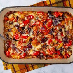 Roasted Root Vegetable Casserole